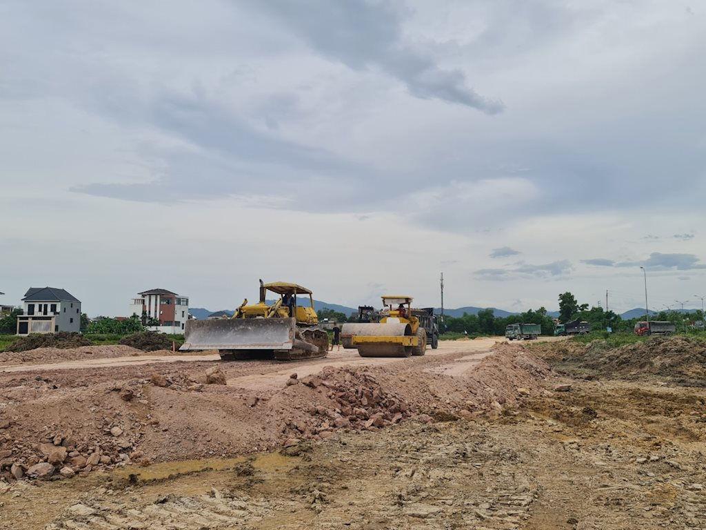 Sau khi trúng đấu giá dự án, CTCP Tập đoàn Hà Mỹ Hưng đã tiến hành động thổ triển khai dự án để kịp tiến độ hoàn thành như kế hoạch phê duyệt.