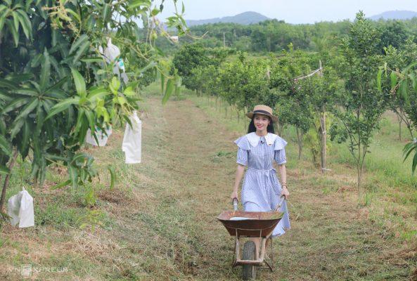 Cô nông dân thử việc