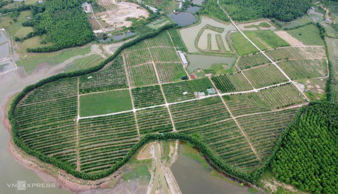 Nông trại nhìn từ trên cao
