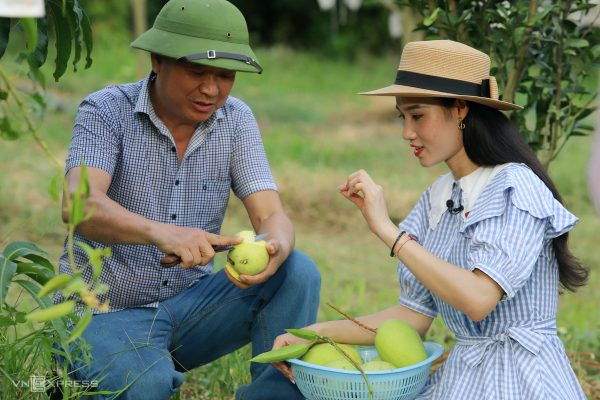 Ông Lê Vạn Hải - Chủ trang trại Khe Lang Green